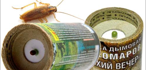 Εντομοκτόνα βόμβες καπνού για να σκοτώσει κατσαρίδες στο διαμέρισμα